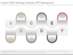 Custom Seo Strategy Example Ppt Background
