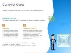 Customer 360 Overview Customer Cases Ppt Ideas Icons PDF