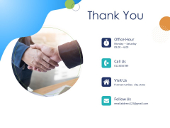 Customer 360 Overview Thank You Ppt Pictures Infographics PDF
