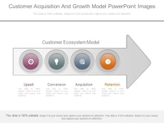 Customer Acquisition And Growth Model Powerpoint Images