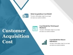 Customer Acquisition Cost Ppt PowerPoint Presentation File Structure