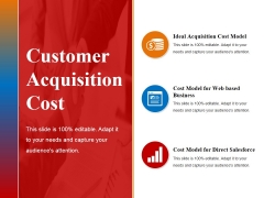 customer acquisition cost ppt powerpoint presentation gallery themes
