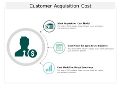 Customer Acquisition Cost Ppt Powerpoint Presentation Icon Design Templates