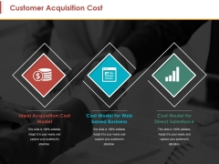 Customer Acquisition Cost Ppt PowerPoint Presentation Outline Guide