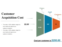 Customer Acquisition Cost Ppt PowerPoint Presentation Styles Slides