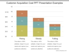 Customer Acquisition Cost Ppt Presentation Examples