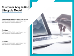 Customer Acquisition Lifecycle Model Ppt PowerPoint Presentation Portfolio Topics Cpb