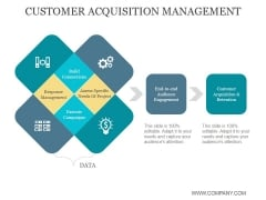 Customer Acquisition Management Ppt PowerPoint Presentation Templates