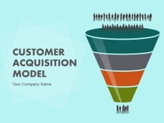 Customer Acquisition Model Ppt PowerPoint Presentation Complete Deck With Slides