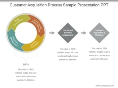 Customer Acquisition Process Sample Presentation Ppt