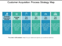 Customer Acquisition Process Strategy Map Ppt PowerPoint Presentation Infographic Template Objects