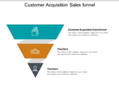 Customer Acquisition Sales Funnel Ppt PowerPoint Presentation Portfolio Graphics Cpb