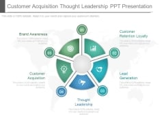 Customer Acquisition Thought Leadership Ppt Presentation