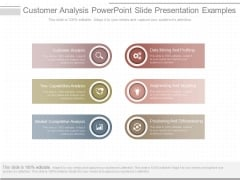 Customer Analysis Powerpoint Slide Presentation Examples