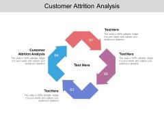 Customer Attrition Analysis Ppt PowerPoint Presentation Icon Visual Aids Cpb Pdf