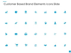 Customer Based Brand Elements Icons Slide Ppt PowerPoint Presentation Ideas Topics