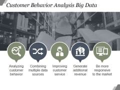 Customer Behavior Analysis Big Data Ppt PowerPoint Presentation Images