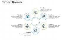 Customer Behavioral Data And Analytics Circular Diagram Download PDF