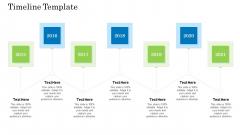 Customer Behavioral Data And Analytics Timeline Template Background PDF