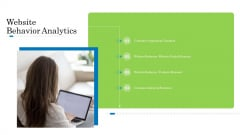 Customer Behavioral Data And Analytics Website Behavior Analytics Elements PDF