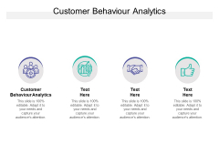 Customer Behaviour Analytics Ppt PowerPoint Presentation Layouts Rules Cpb