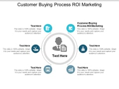 Customer Buying Process ROI Marketing Ppt PowerPoint Presentation Layouts Design Inspiration Cpb