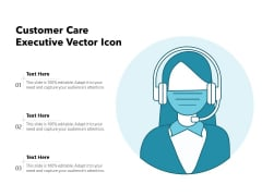 Customer Care Executive Vector Icon Ppt PowerPoint Presentation Layouts Graphics Pictures PDF
