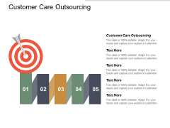 Customer Care Outsourcing Ppt Powerpoint Presentation Summary Clipart Images Cpb
