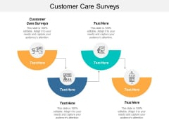 Customer Care Surveys Ppt PowerPoint Presentation Layouts Design Inspiration Cpb