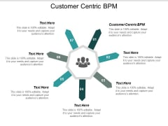 Customer Centric Bpm Ppt Powerpoint Presentation Ideas Design Templates Cpb