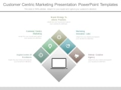 Customer Centric Marketing Presentation Powerpoint Templates