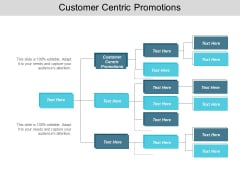 Customer Centric Promotions Ppt PowerPoint Presentation Slides Model Cpb