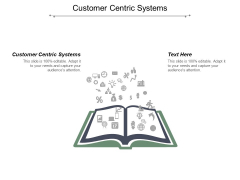 Customer Centric Systems Ppt PowerPoint Presentation Slides Graphics Template