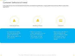 Customer Churn Prediction And Prevention Customer Behavioral Trend Summary PDF