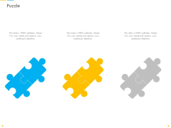 Customer Churn Prediction And Prevention Puzzle Ppt Layouts Example Topics PDF