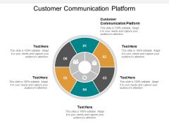 Customer Communication Platform Ppt PowerPoint Presentation Model Templates Cpb