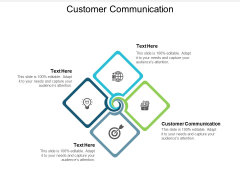 Customer Communication Ppt PowerPoint Presentation Infographics Backgrounds Cpb