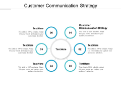 Customer Communication Strategy Ppt PowerPoint Presentation Infographic Template Design Inspiration Cpb