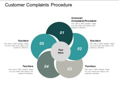 Customer Complaints Procedure Ppt PowerPoint Presentation Model Samples Cpb