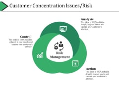 Customer Concentration Issues Risk Ppt PowerPoint Presentation Professional Visuals