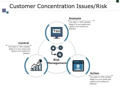 Customer Concentration Issues Risk Ppt PowerPoint Presentation Slides Deck