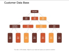 Customer Data Base Ppt Powerpoint Presentation Inspiration Gallery Cpb