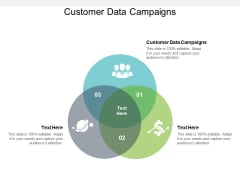 Customer Data Campaigns Ppt PowerPoint Presentation Inspiration Display Cpb