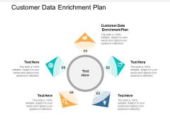 Customer Data Enrichment Plan Ppt PowerPoint Presentation Diagram Images Cpb