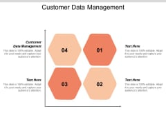 Customer Data Management Ppt PowerPoint Presentation Infographics Design Templates Cpb