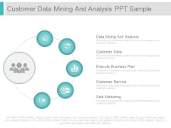 Customer Data Mining And Analysis Ppt Sample
