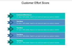 Customer Effort Score Ppt PowerPoint Presentation Infographics Structure Cpb