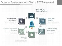 Customer Engagement And Sharing Ppt Background