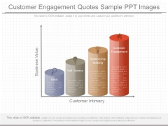 Customer Engagement Quotes Sample Ppt Images