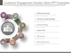 Customer Engagement Solution Store Ppt Examples